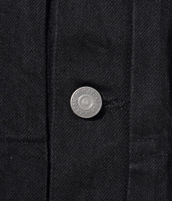 Lot No. SC14601 / 13oz. BLACK DENIM JACKET 1953 MODEL