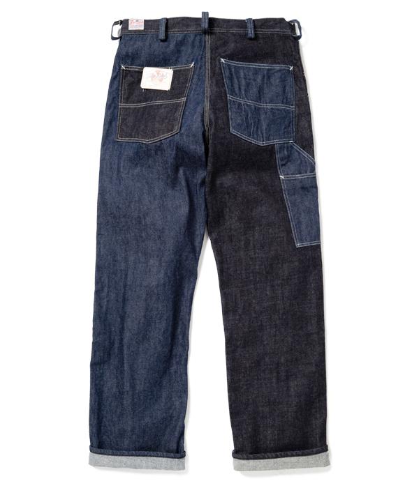 Lot No. FL41964 / FREE LAND 12oz. BLUE DENIM WORK PANTS