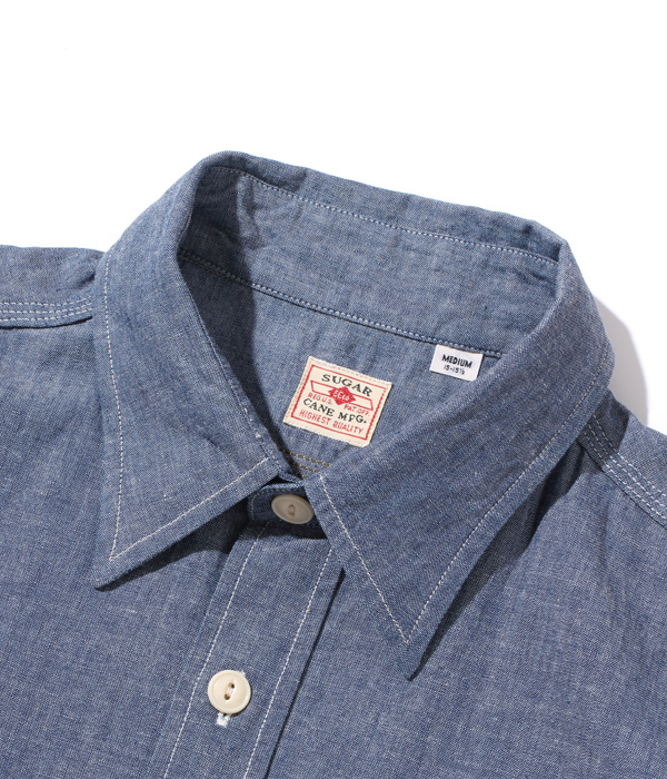 Lot No. SC37941 / BLUE CHAMBRAY WORK SHIRT