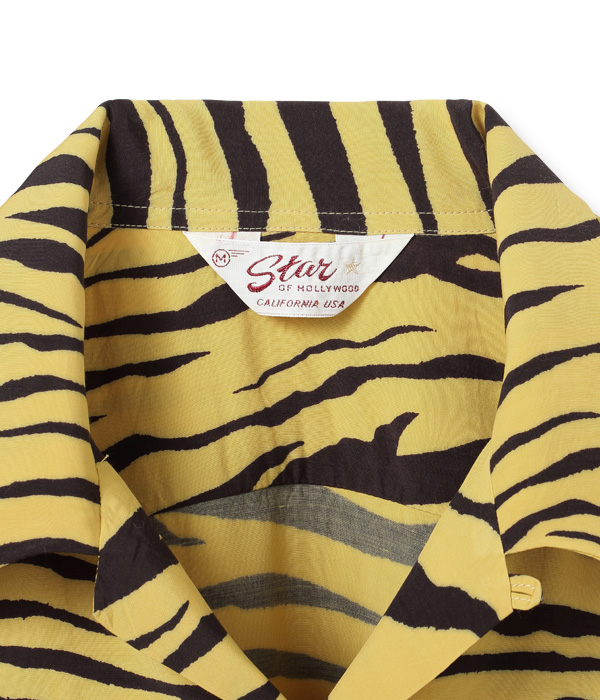 "2021年4月30日入荷 / Lot No. SH38626 / HIGH DENSITY RAYON OPEN SHIRT ""TIGER"""