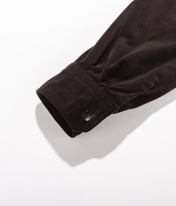 """Lot No. TT14754-119 / Mid 1950s - Late 1950s Style Velveteen × Velveteen Souvenir Jacket """"KOSHO & CO."""" Special Edition """"RADIO GROUP MOBILE"""" × """"LIGHTNING & POLAR BEAR"""""""