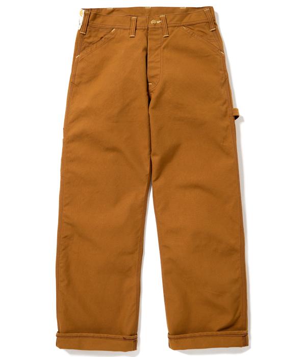 Lot No. SC41824 / 13oz. BROWN DUCK WORK PANTS