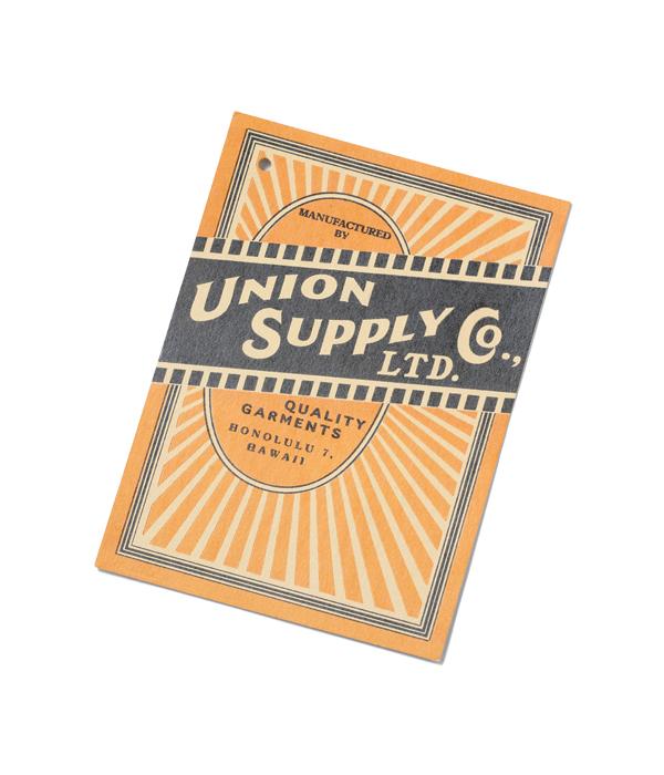 Lot No. US27124 / UNION SUPPLY 10oz. PALAKA CHECK PULLOVER SHIRT