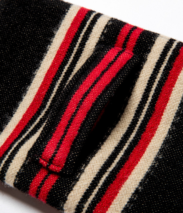 Lot No. SC02654 / NATIVE AMERICAN WOOL BLANKET PURSE