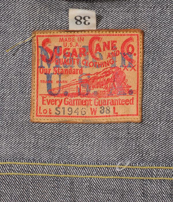 "Lot No. SC11946US / SUGAR CANE ""Made in USA"" 13oz. WW� DENIM BLOUSE 1946 MODEL"