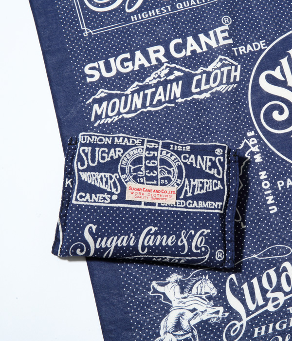 Lot No. SC02655 /  SUGAR CANE BANDANNA TOTE BAG