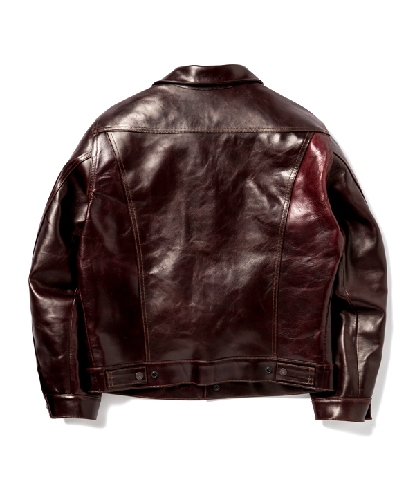 """Lot No. SC80568 / SUGAR CANE """"Made in USA"""" HORWEEN HORSEHIDE LEATHER JACKET"""