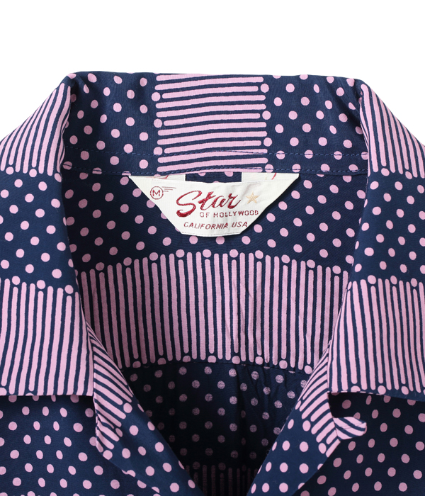 "Lot No. SH28381 / HIGH DENSITY RAYON OPEN SHIRT ""STRIPES"""