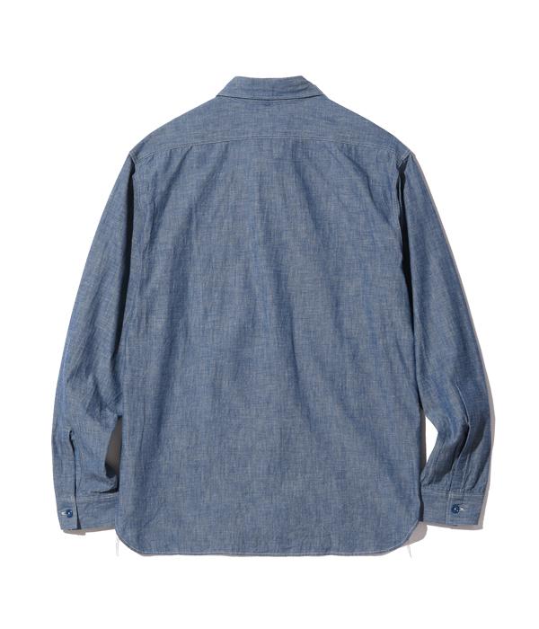 Lot No. BR25995 / BLUE CHAMBRAY WORK SHIRTS