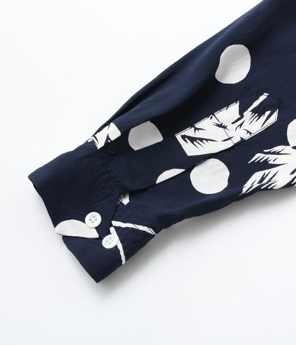 """2021年6月4日入荷 / Lot No. DK27200 / DUKE KAHANAMOKU SPECIAL EDITION """"MOONLIGHT PALM TREE"""" (LONG SLEEVE)"""