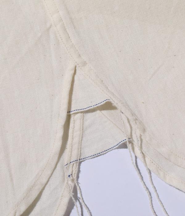 Lot No. BR25996 / WHITE CHAMBRAY WORK SHIRTS