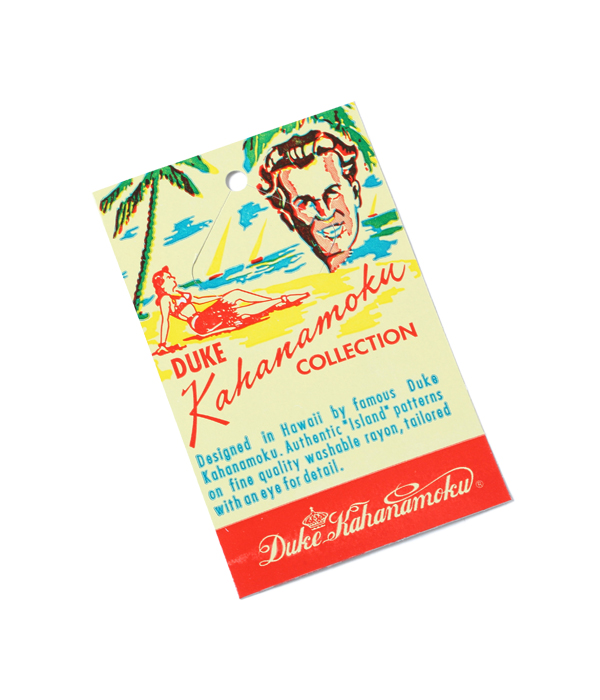 "2021年4月30日入荷 / Lot No. DK28549 / DUKE KAHANAMOKU SPECIAL EDITION ""ROYAL STRIPE"""