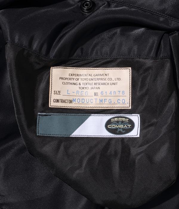 """2021年10月12日入荷 / Lot No. MO14878-119 / LA-1 """"MODUCT MFG. CO."""" (BLACK)"""