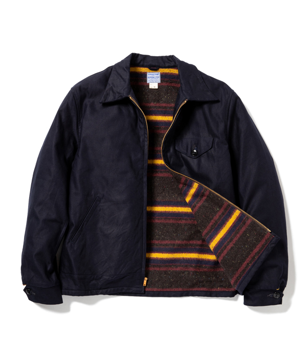 Lot No. SC14796 / 8.5oz. MOUNTAIN CLOTH WORK JACKET with TROY BLANKET