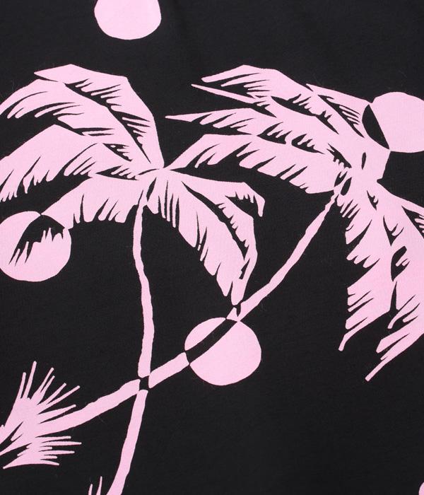 "Lot No. DK36980 / DUKE KAHANAMOKU SPECIAL EDITION ""MOONLIGHT PALM TREE"" (SHORT SLEEVE)"