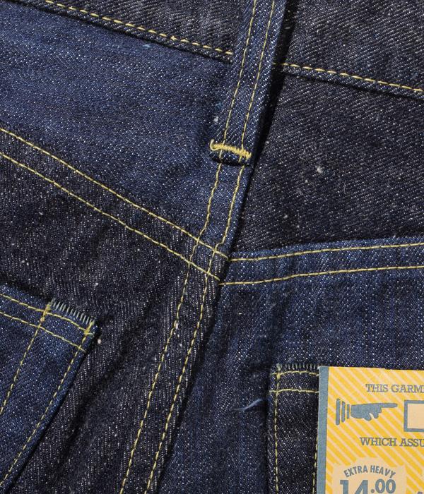 Lot No. SC41701 / 砂糖黍製 琉球藍混 × HAWAII藍混 14oz. DENIM SLIM MODEL