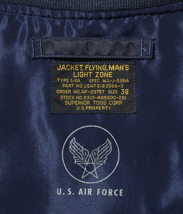 """Lot No. BR12984 / Type L-2A """"SUPERIOR TOGS CORP."""""""