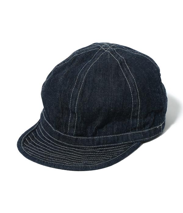 Lot No. BR02308 / HAT, WORKING, DENIM (MOD.)