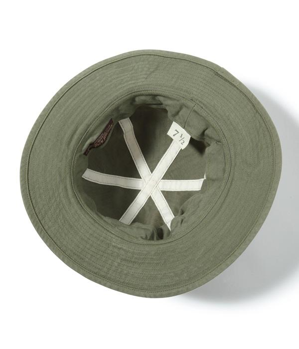 Lot No. BR02537 / AVIATION ASSOCIATES O.D. HERRINGBONE ARMY HAT