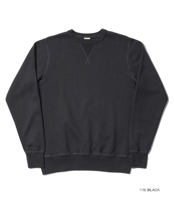 Lot No. BR65622 / SET-IN CREW NECK SWEAT SHIRTS