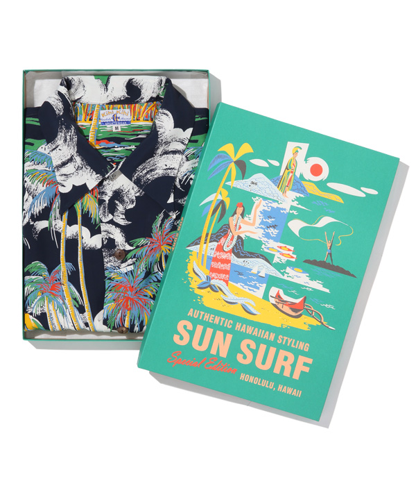 "2021年春夏発売予定 / Lot No. SS38682 / SUN SURF SPECIAL EDITION ""CANOE RACE"""