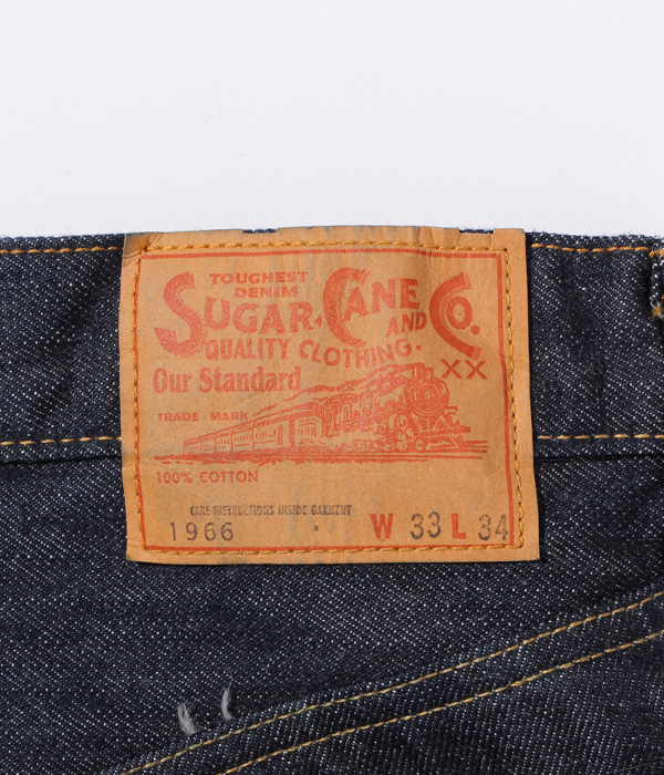 Lot No. SC42966 / 14oz. DENIM 1966 MODEL
