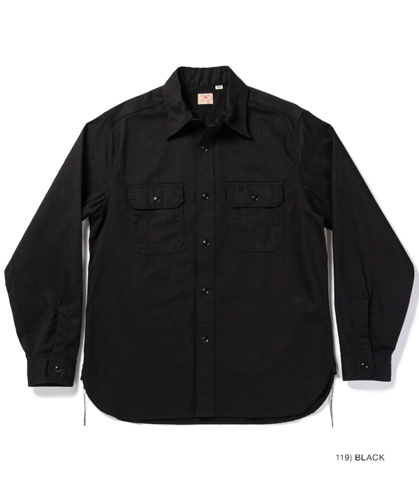 Lot No. SC28653 / COLOR TWILL WORK SHIRT