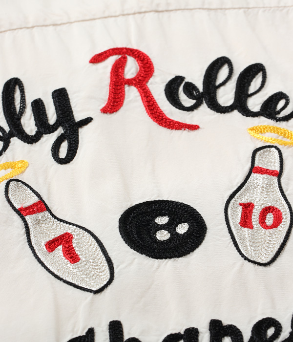 "2021年4月28日入荷 / Lot No. SE38617 / RAYON BOWLING SHIRT ""HOLY ROLLERS"""