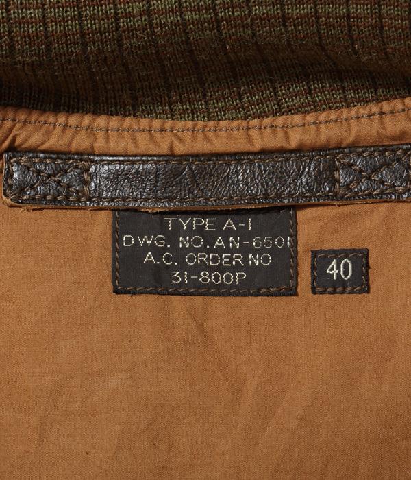 "Lot No. BR80584 / Type A-1 ""DRAWING No. AN-6501 A.C. ORDER No. 31-800P"""