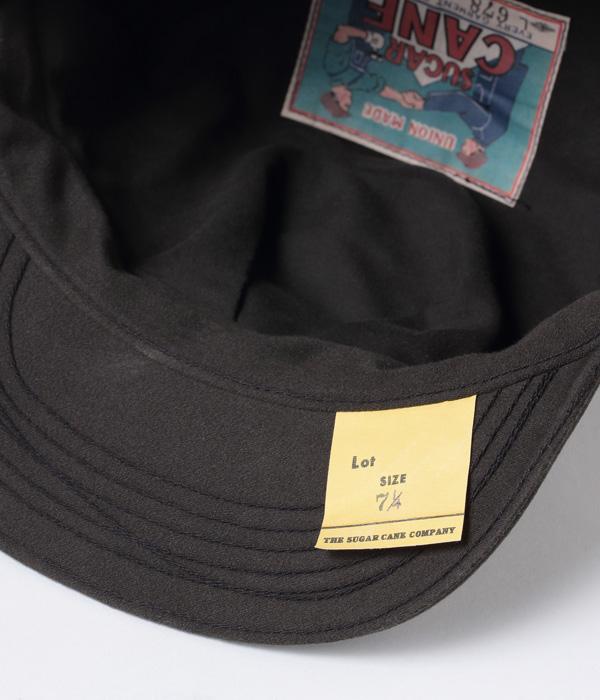 2021年4月28日入荷 / Lot No. SC02678-119 / HEAD LIGHT × FICTION ROMANCE 9.5oz. MOLESKIN WORK CAP (BLACK)