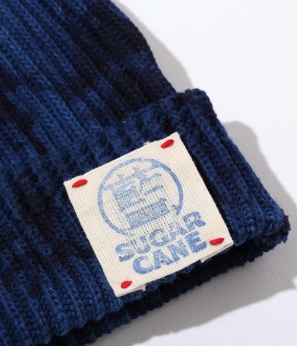 Lot No. SC02679-125 / 阿波本藍染 COTTON KNIT CAP (BLUE)