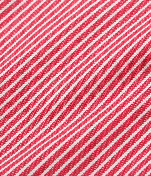 Lot No. SC27853-165 / HICKORY STRIPE WORK SHIRT (RED)