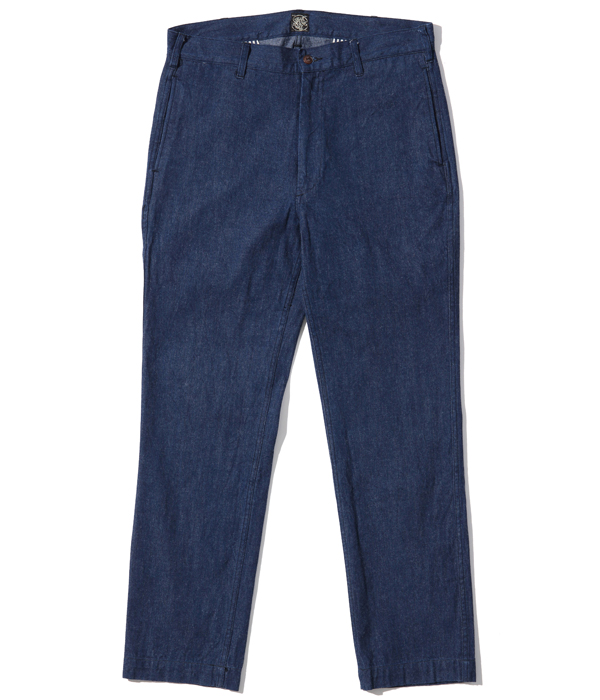 Lot No. SC42201 / FICTION ROMANCE 9.5oz. BLUE DENIM TROUSERS