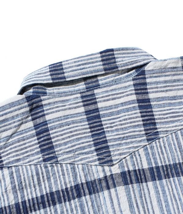 2021年4月27日入荷 / Lot No. SC28723 / 砂糖黍製 5oz. INDIGO CHECK WORK SHIRT