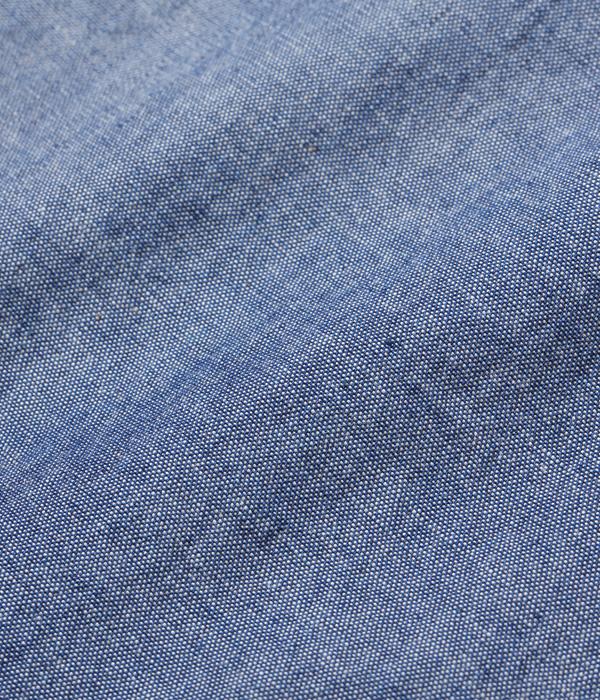 Lot No. SC27850 / BLUE CHAMBRAY WORK SHIRT (LONG SLEEVE)