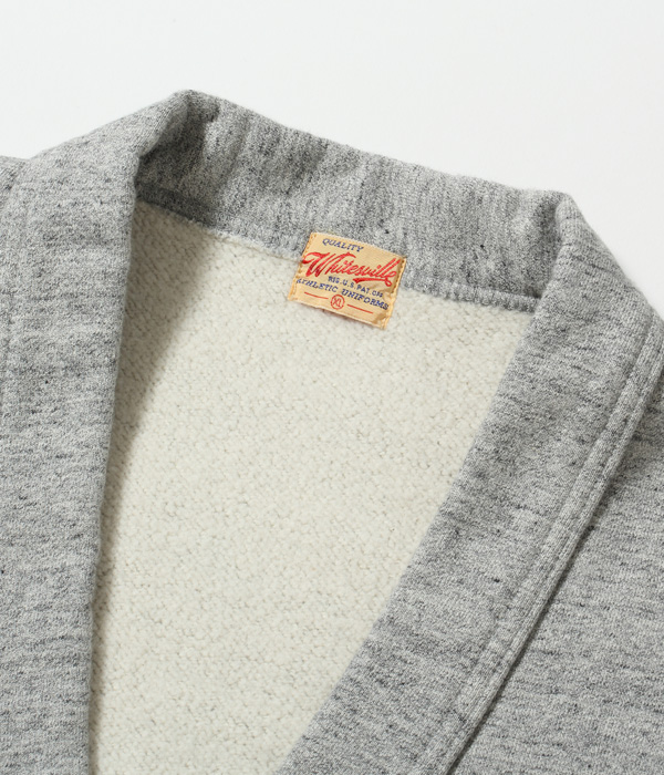 Lot No. WV68612 / HEAVY SWEAT BUTTON CARDIGAN
