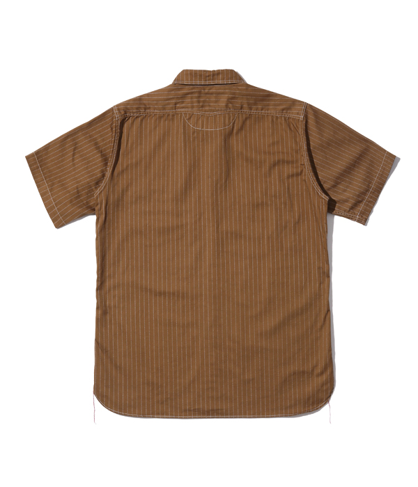 2021年4月7日入荷 / Lot No. SC38700 / FICTION ROMANCE 8.5oz. BROWN WABASH STRIPE WORK SHIRT