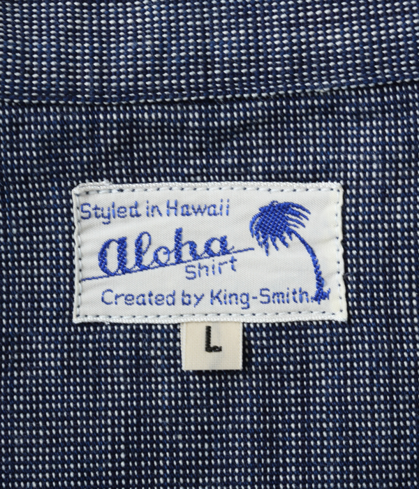 Lot No. SS38082 / ALOHA BY KING SMITH 9oz. MANSUJI WORK BLOUSE