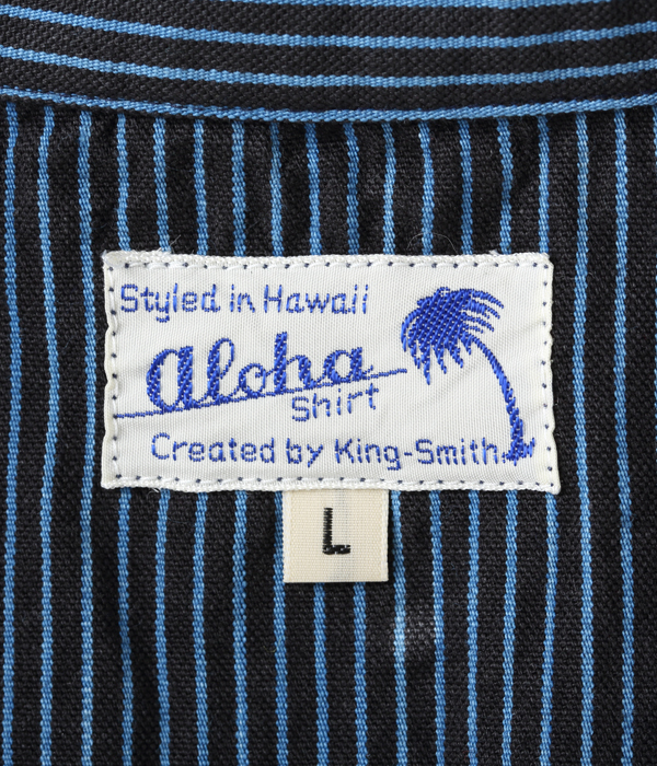 Lot No. SS38361 / ALOHA BY KING SMITH 7.25oz. SENSUJI WORK BLOUSE