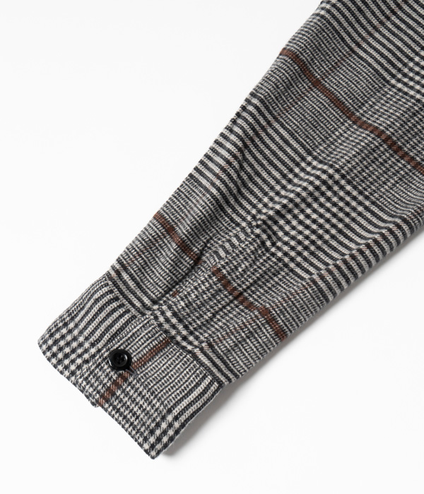 Lot No. SC28504 / LIGHT FLANNEL CHECK WORK SHIRT