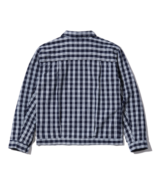 Lot No. SS14802 / MUSASHIYA 9oz. PALAKA CHECK WORK JACKET