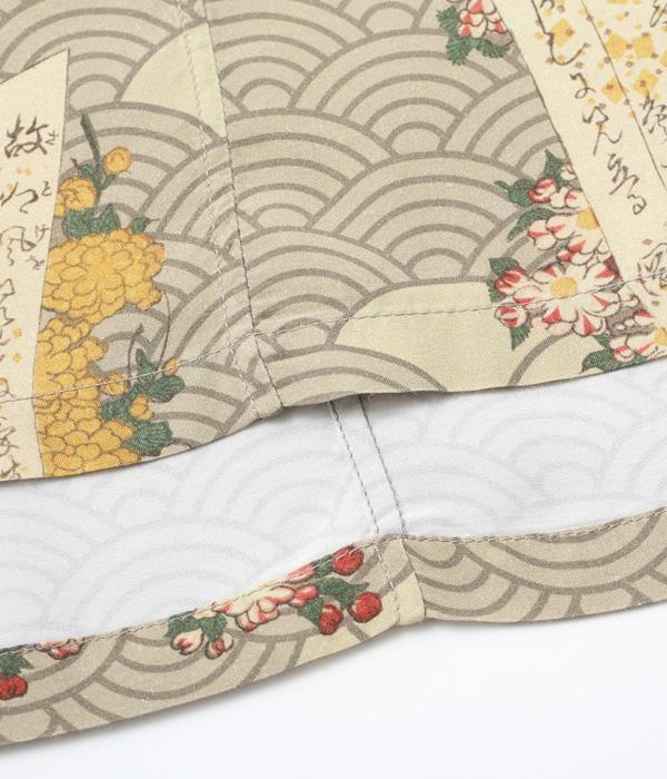 "Lot No. SS38715 / SUN SURF × 三代目 歌川豊国 SPECIAL EDITION ""柳街梨園全盛花一対"""