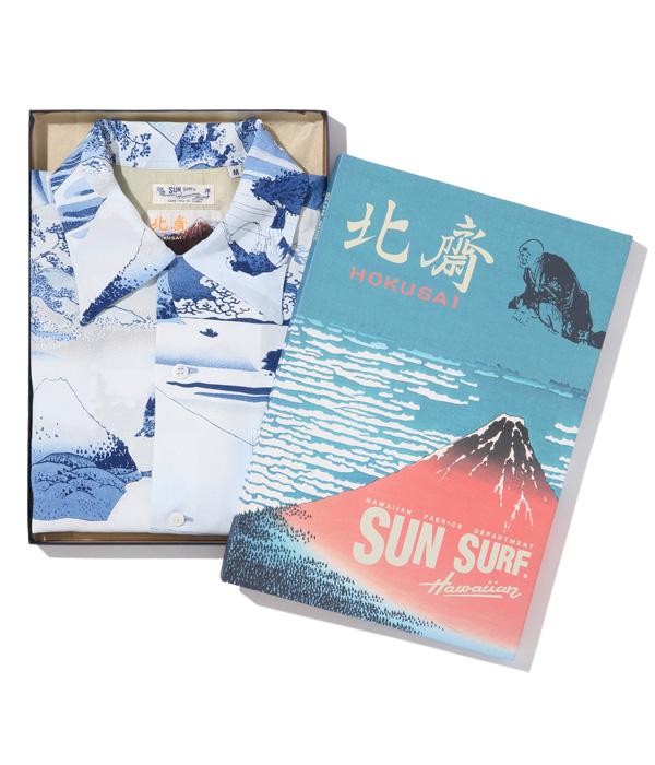 "Lot No. SS38712 / SUN SURF × 葛飾北斎 SPECIAL EDITION ""富嶽七景"""