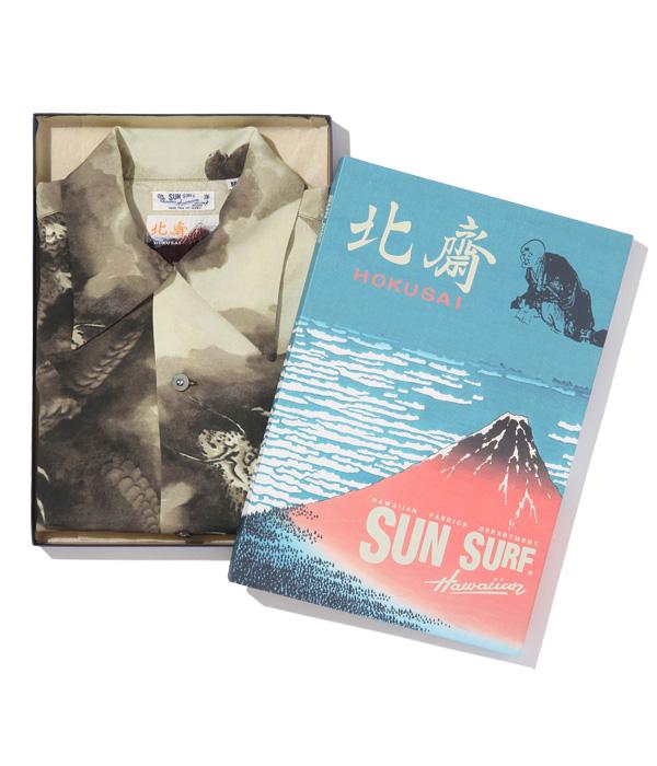 "Lot No. SS38713 / SUN SURF × 葛飾北斎 SPECIAL EDITION ""富士越龍図"""
