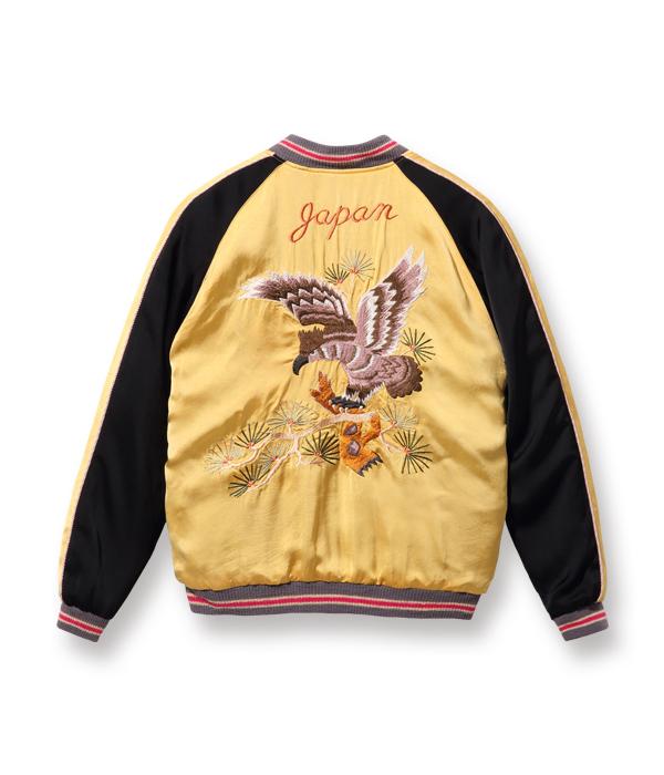 """2021年3月5日入荷 / Lot No. TT14851-155 / Early 1950s Style Acetate Souvenir Jacket """"KOSHO & CO."""" Special Edition """"EAGLE"""" × """"DRAGON"""""""