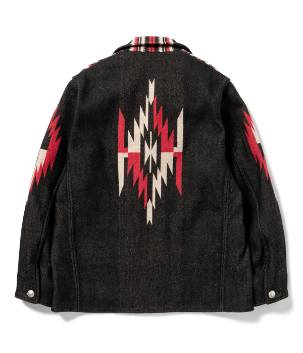Lot No. SC14771 / NATIVE AMERICAN WOOL BLANKET JACKET