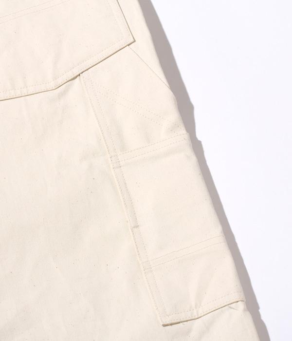 Lot No. HD42208 / HEADLIGHT 9oz. WHITE BOAT SAIL DRILL OVERALLS