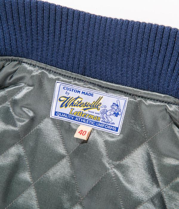 "Lot No. WV14648-126 / 30oz. WOOL MELTON AWARD JACKET ""BROOKLYN BREAKERS"" (ROYAL BLUE)"