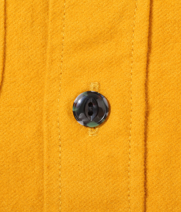 Lot No. SC28753 / FICTION ROMANCE 9.5oz. HEAVY TWILL WORK SHIRT with MARBLE BUTTON