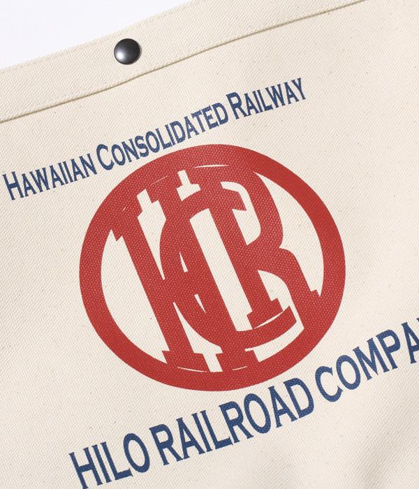 """2021年4月27日入荷 / Lot No. SS02674 / HAWAIIAN WORK MESSENGER BAG """"HILO RAILROAD COMPANY"""""""